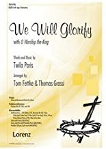 We Will Glorify with O Worship the King - SATB, Piano - Sheet Music