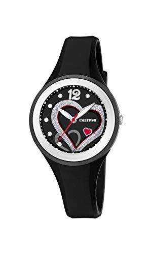Calypso Watches Orologio Analogico Quarzo Donna con Cinturino in Plastica K5751/4
