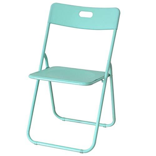 Lxn simplicité Moderne Chaise Design à Manger Pliable, Pieds métal siège en Plastique Portable Chaises, Salle à Manger, Cuisine, Salle de réunion, Bureau, Chaise d'ordinateur - 1pcs