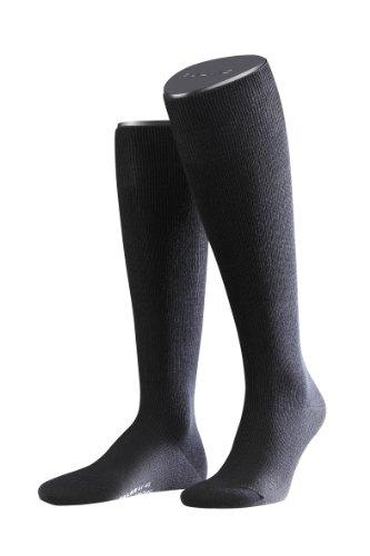 2 Paar FALKE Support Strong Socken, Stützstrümpfe (39-40, schwarz)
