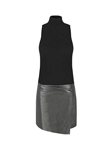 Liu-Jo M69119 MA99E Dress Frauen Schwarz L