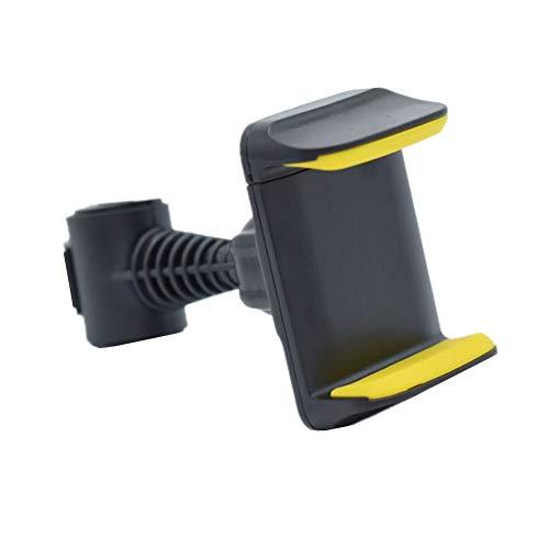 Soporte Tablet Coche Central Soporte Coche Tablet Reposacabezas del soporte de la tableta del coche Almohada para reposacabezas de asiento de coche Yellow,One Size