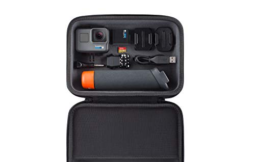 GoPro HERO6 Black + SanDisk 32GB Extreme SD Card + GoPro The Handler Floating Grip + GoPro Hard Case Casey Official GoPro Bundle