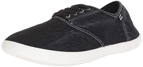 Billabong Women's Addy Sneaker, Off Black, 9.5 M US