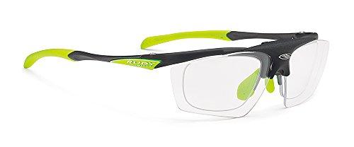 RUDY PROJECT(ルディプロジェクト) 跳ね上げ式 はねあげ クリップオン ロードバイク スポーツサングラス サイクリング 自転車 フィット感 調整可能 スポーツ眼鏡 インパルス フリップアップ フローズンアッシュ/インパクトX2調光ブラック 01