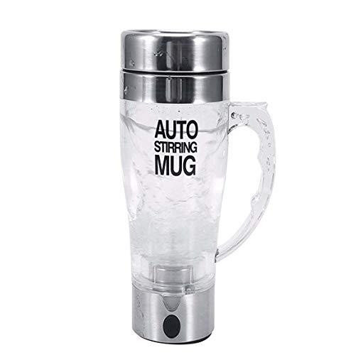 Mengshen Self Stirring Mug/Cafe Tazas - Multipurpose Shaker Mixer Auto Stir CoffeeTea Cup Portable Electric, A034