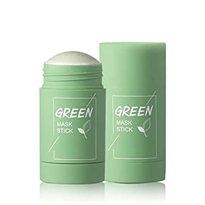 ExH Deep Cleaning Mask,Activated Exfoliator Mask Deep Cleaning Shrink Pores Green Tea Purifying Clay Stick Mask Oil Control Solid Mask Deep Cleaning Moisturizing Mask by ExH