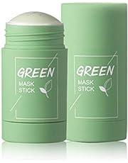Diep reinigend masker, Comedondrukker Masker Groene thee Zuiverende klei Stick-masker Oil Control Solid Mask Hydraterende masker, Facial Pore Minimizer