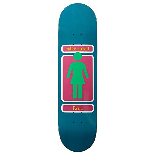 Girl Mike Carroll 93 Til Skateboard Deck 8 inch Multi