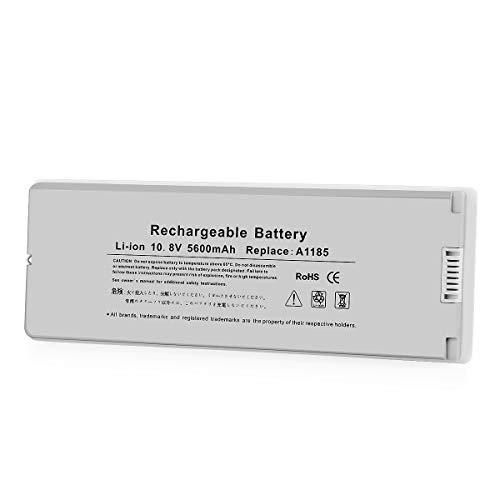 YTPowerPal A1185 Laptop Battery for Apple 13' MacBook Battery A1181 MA254 MA255 MB402 MA566 MA561 MA699 MA700 MB061 MB062 MB402