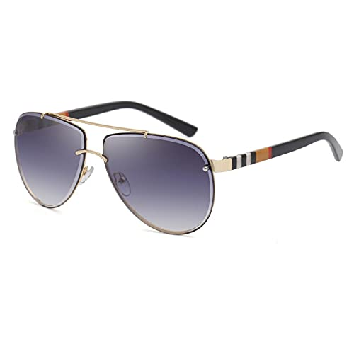 BANLV Gafas de Sol con Ribete de Diamantes Gafas de Sol de Sapo para Hombre Mujer