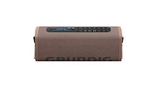 Grundig GBT Band Coffee - Bluetooth Lautsprecher mit DAB+ und UKW Radio, 30 Meter Reichweite, mehr als 8 Std. Spielzeit