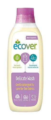 エコベール 洗濯洗剤 液体 おしゃれ着用 本体 やさしいウォーターリリーの香り 1000ml
