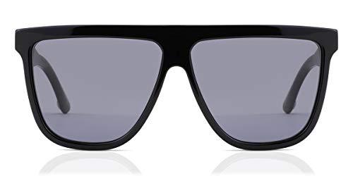 Gucci Gafas de Sol GG0582S BLACK/GREY 61/12/145 hombre