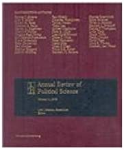 Annual Review of Political Science 2008: 11
