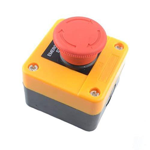 Interruptor de Parada de Emergencia, Interruptor de Botón