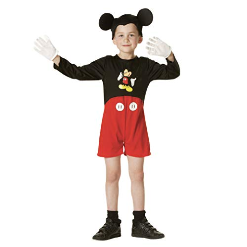 Rubie's-déguisement officiel - Disney- Déguisement Costume Classique Mickey - Taille M- I-884130M