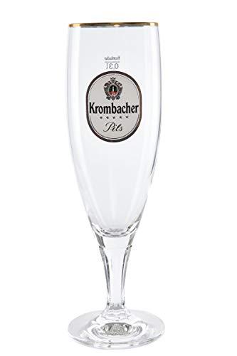 Krombacher Pokal Gläser 6x0,3L - Exclusive Gastro Edition