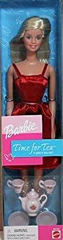 Barbie Time For Tea Doll w 4 Piece Tea Set  2000