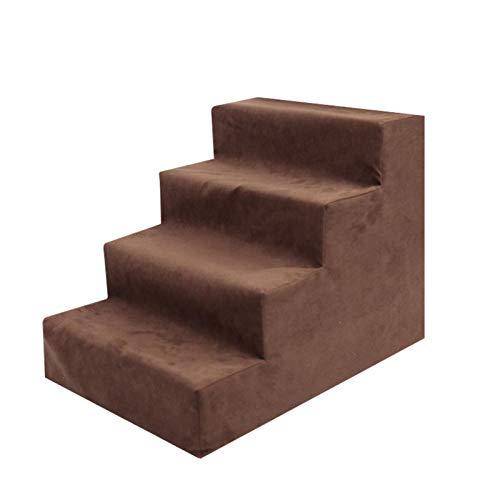 Escalera Para Mascotas, Escalera De Tres O Cuatro Pisos, Escalera Para Perros, Escalera Para Sofá Cama Con Rampa Para Perros, Diseño De Escalera De 3 O 4 Capas, Para Perros, Gatos (3/4 Escalones)