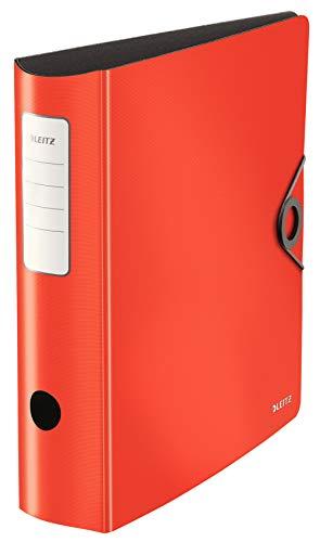 Leitz 10471020 Qualitäts-Ordner, Rot, 82mm