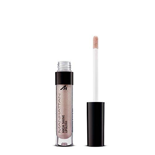 Manhattan High Shine Lipgloss, Glänzender Lipgloss für intensiv schimmerndes Finish auf den Lippen, Farbe 19L, 1 x 3ml