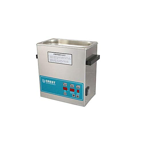 Crest Ultrasonics 0360PD045-2 Model P360 Table Top Cleaner with Power Control, Digital Timer/Heat, 1 Gallon Volume, 45 kHz/230V
