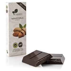 チョカッルーア モディカ チョコレート アーモンド (100g) [イタリア シチリア] | CIOKARRUA MODICA CHOCOLATE IGP | ギフト プレゼント カカオ50% ヴィーガン 板チョコ スイーツ ポリフェノール