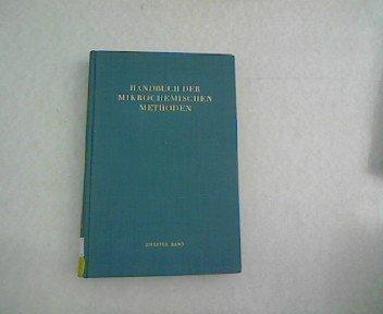 Radiochemische Methoden der Mikrochemie. Messung radioaktiver Strahlen in der Mikrochemie. Photographische Methoden in der Radiochemie.