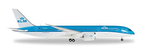 Herpa 557450 - Aereo KLM Boeing 787-9 Dreamliner, Colore: Blu/Bianco