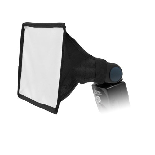 "Fotodiox 6""x9"" Softbox for Nikon Flash, Canon Speedlite, for Nikon SB-600, SB-700, SB-800, SB-900, SB-910 Flash, Canon Speedlite 380EX, 430EX, II, 550EX, 580EX, II, 600EX-RT, Vivitar Flash, Sunpak, Nissin, Sigma, Sony, Pentax, Olympus, Panasonic Lumix Flashes"