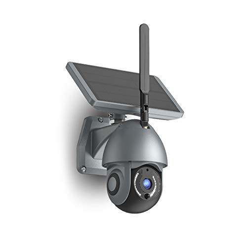 Cámara de seguridad Vídeo Cámara Solar Wifi al aire libre inalámbrica /2MP/HD 1080P/batería solar/audio bidireccional/detección de movimiento Cámara de seguridad