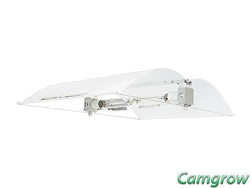 Adjust-A-Wing Defender - Reflector para lámpara de vapor de sodio (tamaño grande), color blanco