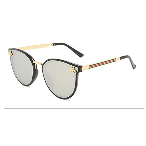 GAOTIAN Gafas de Sol Gafas de Sol de Abeja Hombres Hombres degradados Vintage Gafas Retro Gafas de Sol Hembra Gafas uv400 Manera de la Manera al Aire Libre