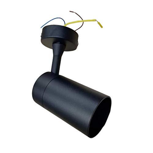 Spot LED en saillie 80° NOIR pour ampoule GU10 - Noir - SILAMP