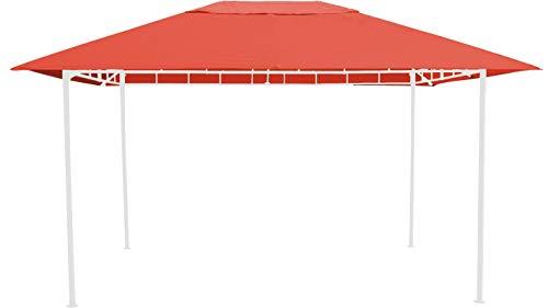 GRASEKAMP Qualität seit 1972 Ersatzdach zu Gartenpavillon Antik Pavillon Partyzelt 3x4m Terra