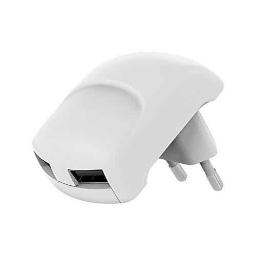 Goobay 59234 Platzsparendes 2X USB Ladegerät weiß