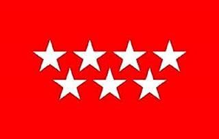 Durabol Gran Bandera Comunidad de Madrid 150 x 90 cm Satén Flag.