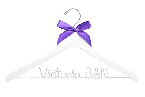 Nurse Hanger, New Nurse Hanger, Scrubs Hanger, Rn Hanger, Nurse School Graduation Gift, Rn Gift, Lpn Gift, White Coat Ceremony Hanger