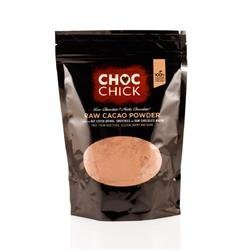 Organic raw cacao powder Ethically sourced from cooperatives in Ecuador Exceptional in its taste and quality Free from dairy, gluten, sugar and additives Suitable for Vegetarians, Vegans and Coeliacs
