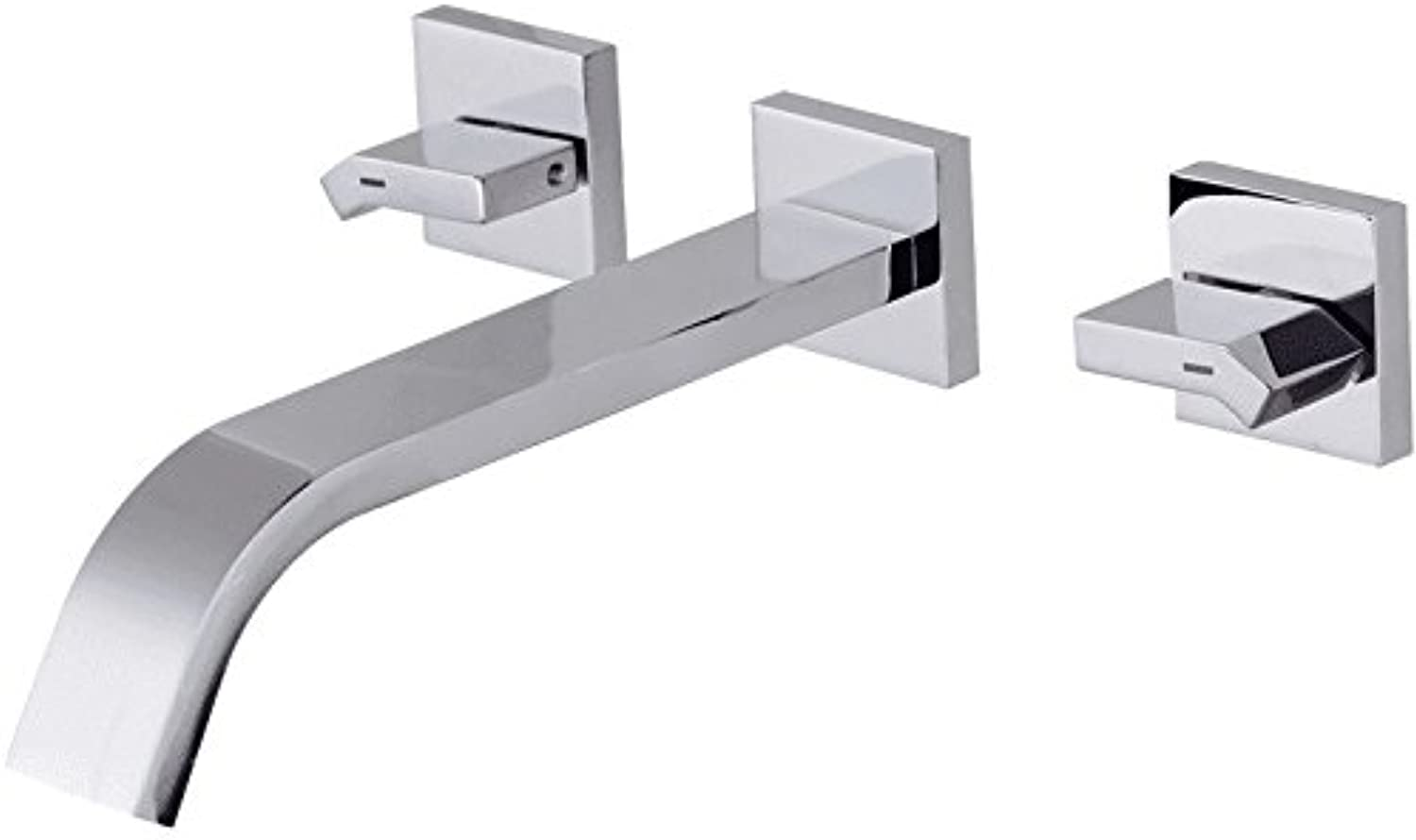 Jduskfl Faucet Bathroom Faucet New Waterfall Rain Thermostatic Shower Column Body Hot and Cold Shower Panel Faucet with Temperature Digital Display,Chrome,Big Lateral Inflow 1