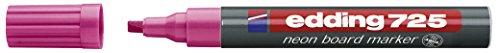 edding Neon-Boardmarker edding 725, nachfüllbar, 2-5 mm, neonrosa
