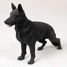 German Shepherd Dog Figurine - Black by Conversation Concepts