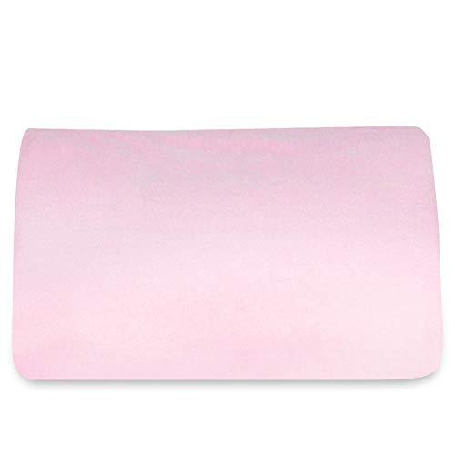(ケラッタ) 防水 おねしょシーツ 綿100%【吸収速乾・抗菌 防ダニ】選べる3色 (セミダブル 120cm×200cm, ピンク)