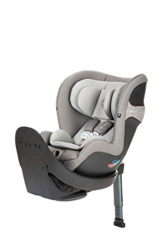 CYBEX Sirona S Rotating Convertible Car Seat with SensorSafe 2.1, Children Newborn to Four Years, Easy Child Load in, Infant Baby Toddler Preschooler, in Manhattan Grey