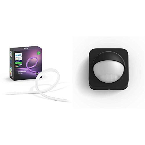 Philips Hue - Tira LED para exterior de 2 metros + Sensor para exterior incluido (compatible con Amazon Alexa, Apple HomeKit y Google Assistant)
