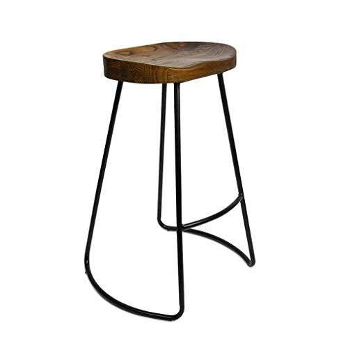 Silla Informal para Sentarse, Taburete de Bar, Bar Estilo Americano Hierro Taburete Alto Café Conta