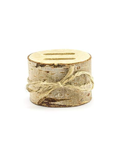 Ringhalter Ringkissen aus Holz Ring Box Hochzeit 6 cm
