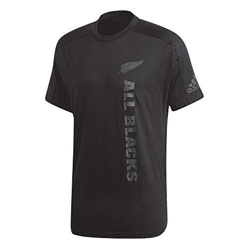 adidas All Blacks New Zealand Graphic - Camiseta (talla M), color negro