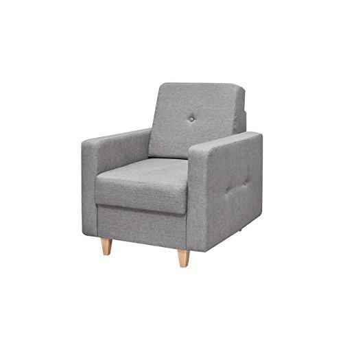 Mirjan24 Einzelsessel Tango, Design Polstersessel Armsessel Armsofa Relaxsessel Loungesessel Couch Ohrensessel, Sessel (Drago 135)
